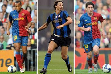 Henry, 'Ibracadabra' y Messi