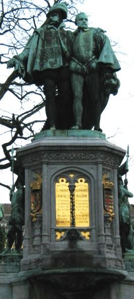 Estatua de Egmont de Horn en Bruselas