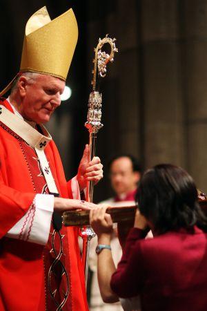 El arzobispo de Melbourne, Denis Hart. Kristian Dowling (Getty)